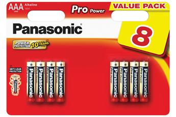 Pile LR03 AAA x8 Panasonic
