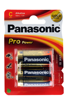 Pile LR14 C x2 PRO POWER Panasonic