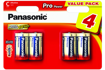Pile LR14 C x4 PRO POWER Panasonic