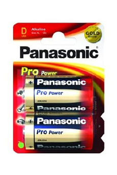 Pile LR20 D x2 PRO POWER Panasonic