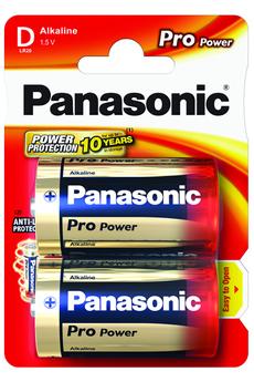 Pile LR20 D x2 PRO POWER Panasonic