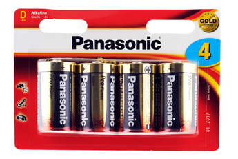 Pile LR20 D x4 PRO POWER Panasonic