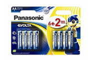 Panasonic LR06 AA 6+2