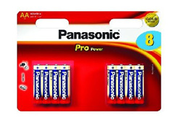 Panasonic PRO POWER LR06 AA x8