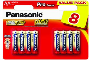 Pile PRO POWER LR06 AA x8 Panasonic