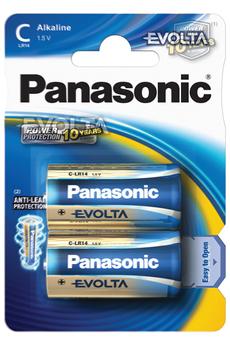 Pile LR14 C x2 EVOLTA Panasonic