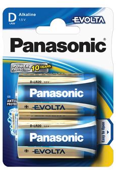 Pile LR20 D x2 EVOLTA Panasonic