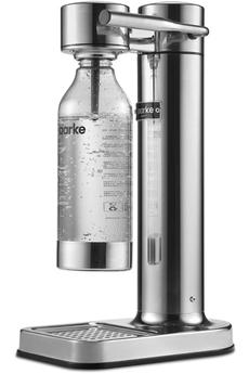 Machine à soda et eau gazeuse Aarke Carbonator II - Argent