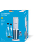 Sodastream Machine CRYSTAL Blanche avec 2 carafes et 4 verres de service photo 2