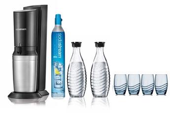 Machine à soda et eau gazeuse Sodastream Crsytal Mega Pack