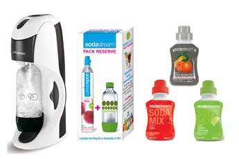 Machine soda DYNAMO B+3 CCTRE+GAZ Sodastream