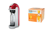 Sodastream Fizz rouge + Caps saveur orange mangue