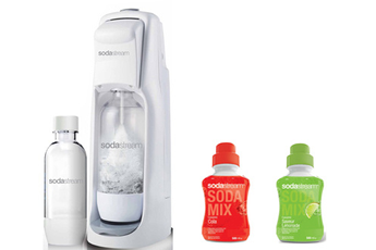 Machine soda JETPLUS + COLA 500 ML + LIMONADE 500 ML Sodastream