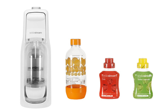 Machine soda MEGA PACK JET BLANCHE Sodastream