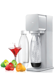 Machine soda MEGA PACK PLAY GRISE Sodastream