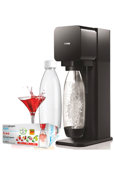 Machine soda MEGA PACK PLAY NOIRE FETE DES MERES Sodastream