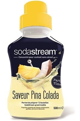 Machine à soda et eau gazeuse Sodastream Saveur PINA COLADA