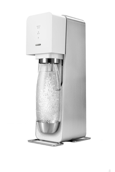 Machine soda SOURCE METAL BLANCHE AUTO LIFT Sodastream