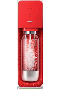 Machine soda SOURCE METAL ROUGE Sodastream