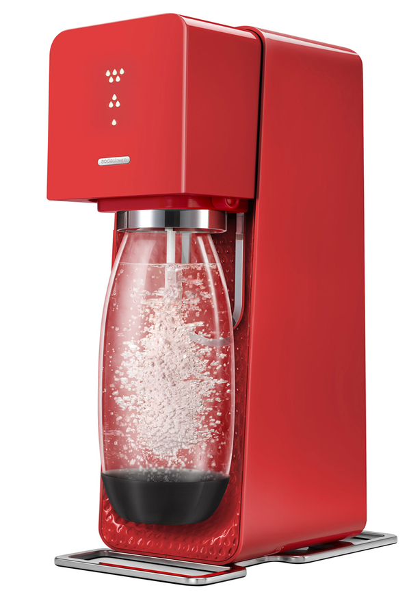 machine soda sodastream source rouge 4001737 darty. Black Bedroom Furniture Sets. Home Design Ideas