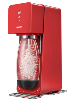 Machine soda SOURCE ROUGE Sodastream
