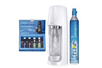 Machine à soda et eau gazeuse Sodastream MACHINE SPIRIT BLANCHE COFFRET PEPSI