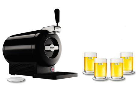 pompe a biere krups the sub noir coffret 4 verres et 5 sous bock offert the sub noir. Black Bedroom Furniture Sets. Home Design Ideas