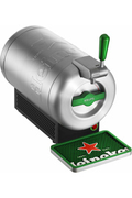 Krups VB650E10 THE SUB HEINEKEN EDITION METAL