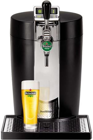 pompe a biere krups beertender noir et metal yy2932fd darty. Black Bedroom Furniture Sets. Home Design Ideas