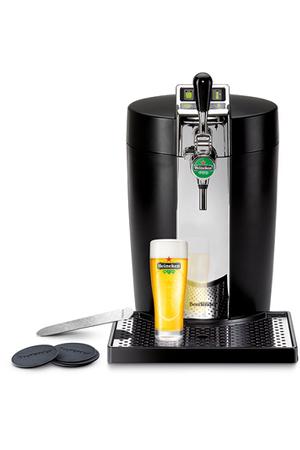 pompe a biere krups yy3909fd beertender noir et chrome darty
