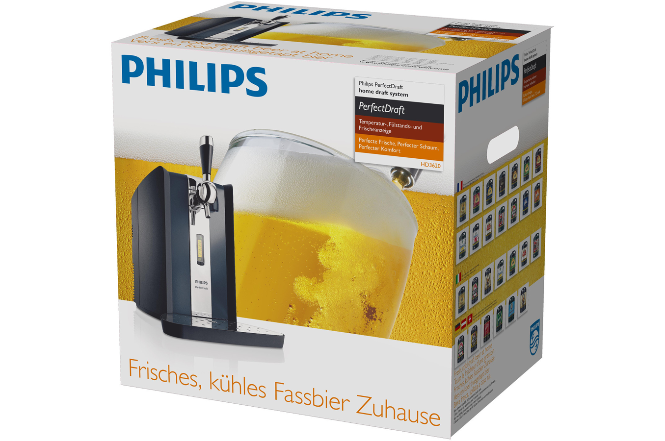 pompe a biere philips hd3620 25 perfectdraft hd3620 25 darty. Black Bedroom Furniture Sets. Home Design Ideas