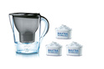 Brita MARELLA GRAPHITE + 3 CARTOUCHES photo 1