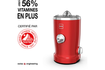 Centrifugeuse Novis Vita Juicer S1 red