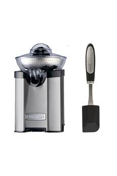 Effet centrifugeuse - Système stop-gouttes Puissance 100 Watts Filtre en acier inoxydable - Compatible au lave vaisselle Inclus : maryse en silicone