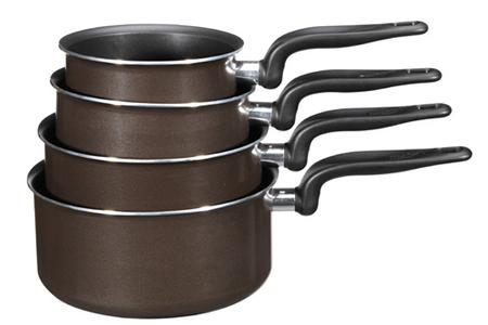 casserole tefal set 4 casseroles enjoy tobacco set 4 casse enjoy darty. Black Bedroom Furniture Sets. Home Design Ideas