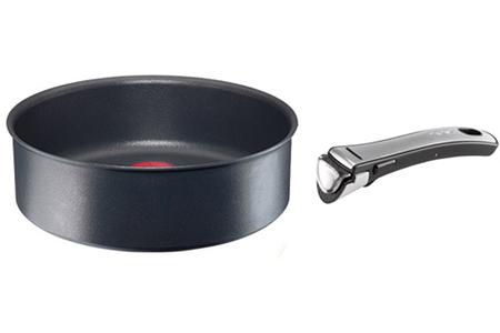 poele sauteuse tefal sauteuse ingenio 24 cm darty. Black Bedroom Furniture Sets. Home Design Ideas