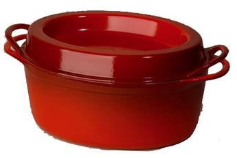 Cocotte / faitout / marmite DOUFEU 30 CM CERISE Le Creuset