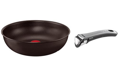 poele sauteuse tefal wok ingenio 28 cm 3208001. Black Bedroom Furniture Sets. Home Design Ideas