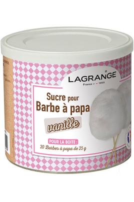 Barbe à papa Lagrange SUCRE VANILLE BARBA