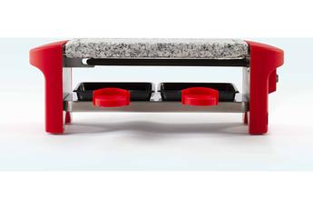 Raclette Livoo DOC156R - Appareil à raclette rouge 2 personnes - Rouge