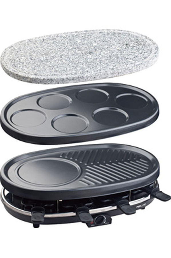 Raclette grill pierrade for Cuisson conviviale