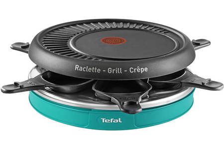 Raclette tefal re129412 darty - Four a raclette tefal ...