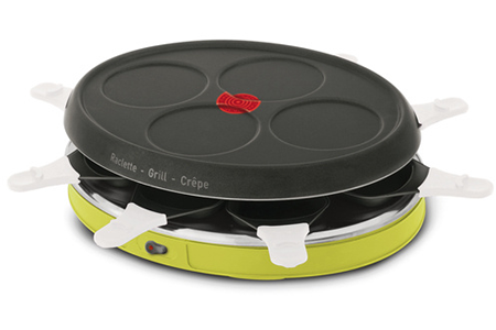 raclette tefal re138012 colormania darty. Black Bedroom Furniture Sets. Home Design Ideas