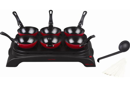 crepiere proline wp6 crepe wok party wp6 crepe wok party darty. Black Bedroom Furniture Sets. Home Design Ideas