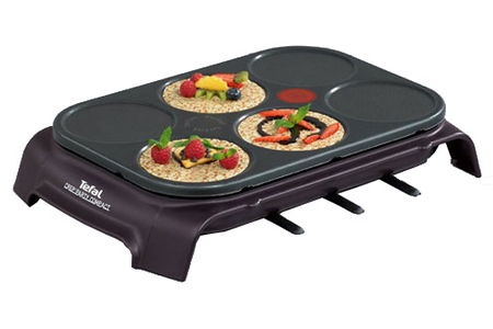 Crepiere tefal py551012 crep 39 party6 darty for Pizza party tefal darty