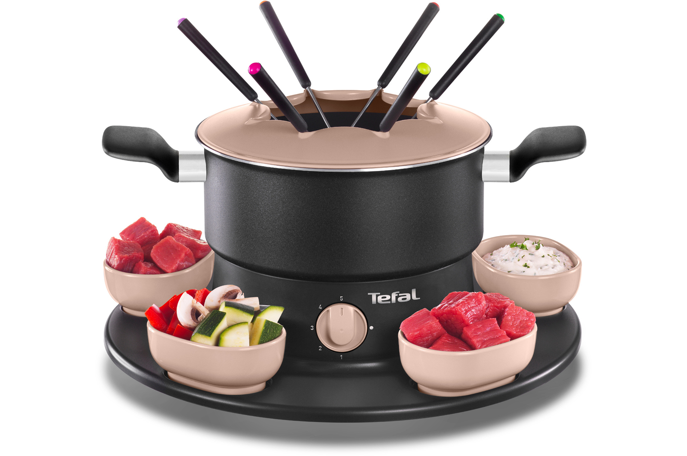 fondue tefal ef353812 fondue tefal ef353812 4191145 darty. Black Bedroom Furniture Sets. Home Design Ideas