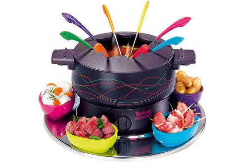 Avis clients pour le produit fondue tefal ef355012 pic party for Pizza party tefal darty