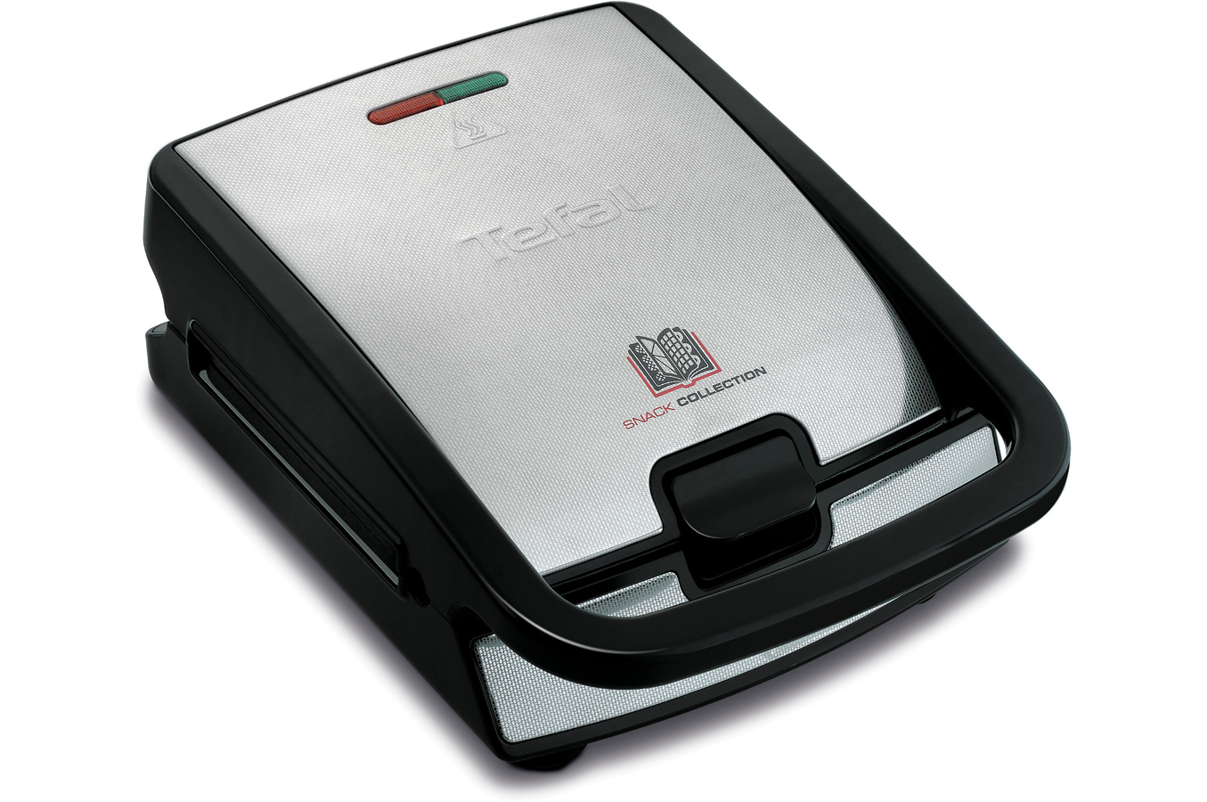 Gaufrier croque monsieur tefal snack collection 2 coffrets sw857d12 darty - Gaufrier tefal snack collection ...