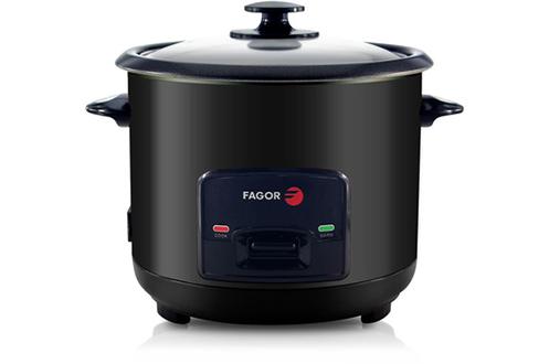 Cuiseur à riz 1,5 litres - Puissance 550 Watts Fonction maintien au chaud Cuve amovible anti-adhésive Fournis : cuillère à riz, bol mesureur