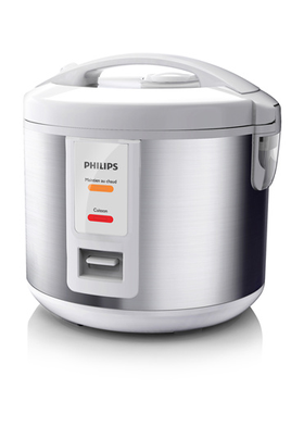 Cuiseur à riz et céréales 3 litres Capacité 900 g de riz Cuisson et maintien au chaud automatiques Panier vapeur